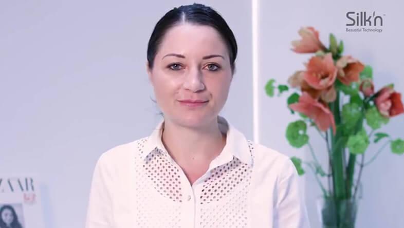 Skin expert Debbie Thomas